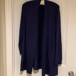 Lightweight navy sweater from Chico's